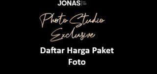 Harga Foto Studio Jonas, Prewedding, Foto Keluarga